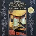 ブレンデルのハイドン/ピアノソナタ第20&49番 蘭PHILIPS 2924 LP レコード