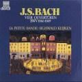 クイケン&ラ・プティット・バンドのバッハ/「管弦楽組曲」 独HM 2916 LP レコード