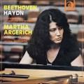 アルゲリッチのベートーヴェン&ハイドン/ピアノ協奏曲集 伊DISCHI RICORDI 2842 LP レコード