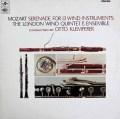 【オリジナル盤】  クレンペラーのモーツァルト/「13管楽器」 英Columbia 2842 LP レコード