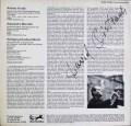 【オイストラフの直筆サイン入り】 オイストラフのモーツァルト/セレナード第11番 独EURODISC