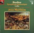 マルティノンのベルリオーズ/幻想交響曲&レリオ 独EMI 2918 LP レコード