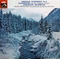 【オリジナル盤】ベルグルンドのシベリウス/交響曲第6番ほか 英EMI 2918 LP レコード