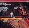 アラウ&デイヴィスのベートーヴェン/ピアノ協奏曲第5番「皇帝」  蘭PHILIPS 2918 LP レコード