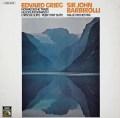 バルビローリのグリーグ/4つのノルウェー舞曲ほか  独EMI  2844 LP レコード