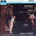 A.フィッシャー&クレンペラーのシューマン&リスト/ピアノ協奏曲集 英Columbia LP レコード