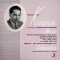 カラヤンのモーツァルト/アイネ・クライネ・ナハトムジークほか 英Columbia LP レコード