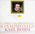 【少々難あり】ベームのベートーヴェン/交響曲全集 独DGG 2918 LP レコード
