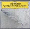 【未開封】 カラヤンのブルックナー/交響曲第4番「ロマンティック」 独DGG 3029 LP レコード