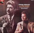 パールマンのクライスラー/ヴァイオリン名曲集 独EMI 3029 LP レコード