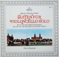 フルニエのバッハ/無伴奏チェロ組曲第3&4番 独ARCHIV 3029 LP レコード