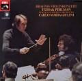 パールマン&ジュリーニのブラームス/ヴァイオリン協奏曲 独EMI 2845 LP レコード