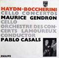 【モノラル】 カザルス&ジャンドロンのハイドン&ボッケリーニ/チェロ協奏曲集 蘭PHILIPS 2995 LP レコード