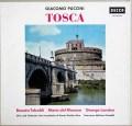 【モノラル】 モリナーリ=プラデッリのプッチーニ/「トスカ」 独DECCA 2995 LP レコード