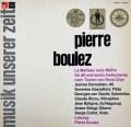 ブーレーズ自作自演/「ル・マルトー・サン・メートル」 独BASF 2847 LP レコード