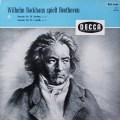 バックハウスのベートーヴェン/ピアノソナタ第31&32番  独DECCA 2643 LP レコード