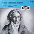 バックハウスのベートーヴェン/ピアノソナタ「月光」、「悲愴」&「熱情」  独DECCA 2643 LP レコード