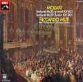 ムーティのモーツァルト/交響曲第25&26番  独EMI 2847 LP レコード