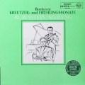 シェリング&ルービンシュタインのベートーヴェン/ヴァイオリンソナタ「クロイツェル」&「春」 独RCA   2720 LP レコード