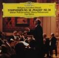 ベームのモーツァルト/交響曲第38番「プラハ」&第39番 独DGG 3001 LP レコード
