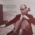 ロストロポーヴィチのプロコフィエフ/交響的協奏曲ほか 英EMI(HMV) 3001 LP レコード