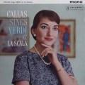 カラス、スカラ座で歌うヴェルディ 英Columbia 3001 LP レコード