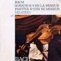 ミルシュタインのバッハ/無伴奏ソナタ&パルティータ第2番 仏Capitol 2709 LP レコード
