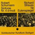 マリナー&南西ドイツ放送交響楽団のシューマン/交響曲第4番ほか   独SWR   2724 LP レコード