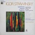 デュトワのストラヴィンスキー/「結婚」ほか  独EMI   2524 LP レコード