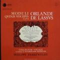 ヘレヴェッへのラッソ/五声のためのマドリガーレ 仏ASTREE    2528 LP レコード