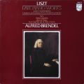 ブレンデルのリスト/後期ピアノ作品集 蘭PHILIPS 2725 LP レコード