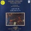 グリュミオーのテレマン/12の幻想曲 蘭PHILIPS 2809 LP レコード