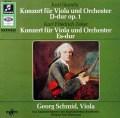 シュミット&リステンパルトのシュターミッツ&ツェルター/ヴィオラ協奏曲集 独Columbia 2811 LP レコード