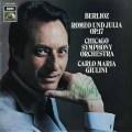 【ジュリーニのサイン入り!】ジュリーニのベルリオーズ/「ロメオとジュリエット」 独EMI 2728 LP レコード