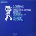 ホロヴィッツのリスト&シューマン/作品集  独Dacapo  2630 LP レコード