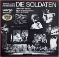 ギーレンのツィンマーマン/「兵士たち」 独WERGO 2902 LP レコード