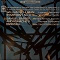バーンスタインのウィリアム・シューマン/交響曲第8番ほか  米Columbia M1701 LP レコード