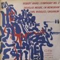 渡邉暁雄と旧日フィルのラッグルス/「オルガヌム」ほか   米CRI M1701 LP レコード