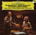 クレーメル&マゼールのチャイコフスキー/ヴァイオリン協奏曲ほか 独DGG 2735 LP レコード