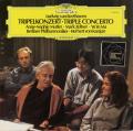 ゼルツァー、ヨーヨー・マ、ムター&カラヤンのベートーヴェン/三重協奏曲 独DGG 2736 LP レコード