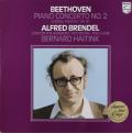 ブレンデル&ハイティンクのベートーヴェン/ピアノ協奏曲第2番&合唱幻想曲 蘭PHILIPS 2736 LP レコード