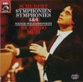 ムーティのシューベルト/交響曲第4&6番 独EMI 2737 LP レコード