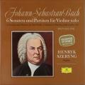 シェリングのバッハ/無伴奏ヴァイオリンソナタとパルティータ全曲 独DGG 2739 LP レコード