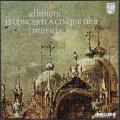 イ・ムジチのアルビノーニ/五声の協奏曲集 蘭PHILIPS 2740 LP レコード