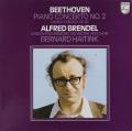 ブレンデル&ハイティンクのベートーヴェン/ピアノ協奏曲第2番&合唱幻想曲 蘭PHILIPS 2740 LP レコード