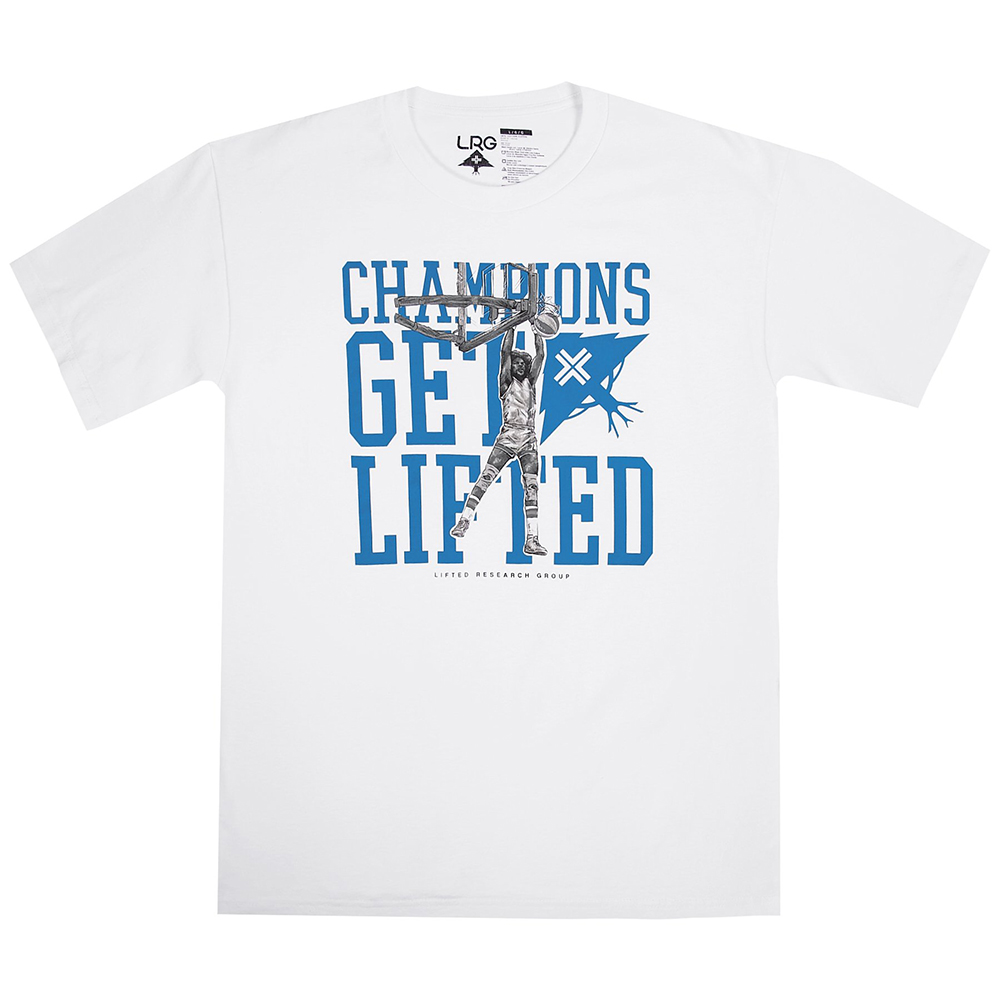 GET LIFTED TEE / WHITE