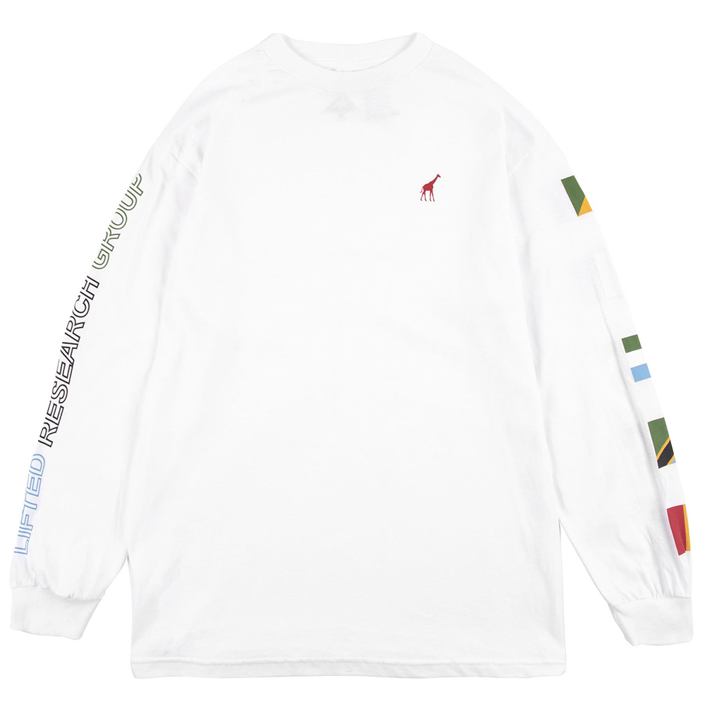 "UNITED NATIONS LS TEE ""WHITE"""