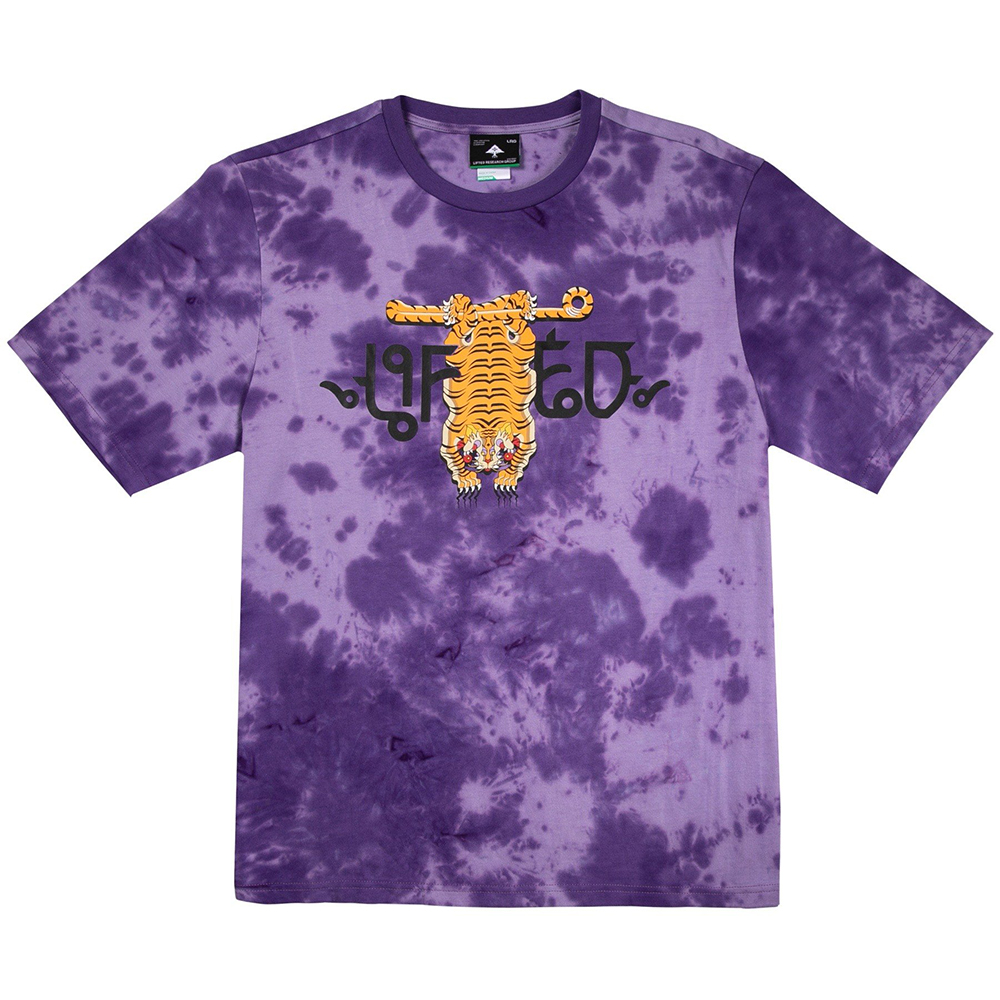 TIGER STYLE KNIT TEE / PURPLE
