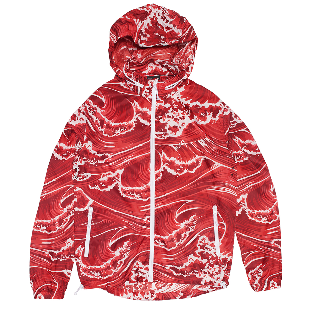 WAVEY WINDBREAKER / RED