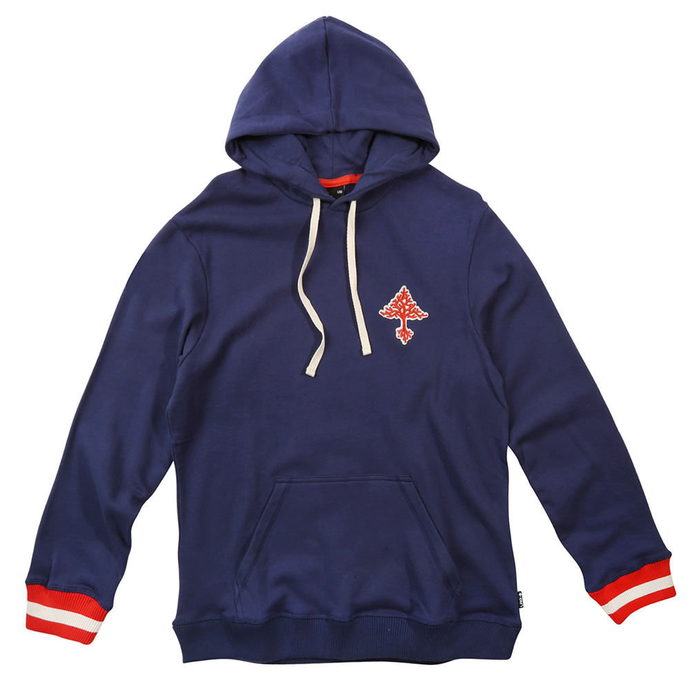 "ALWAYS ON GROW PULLOVER HOODIE ""PATRIOT BLUE"""